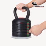 Variobell Kettlebell Gewicht wählen