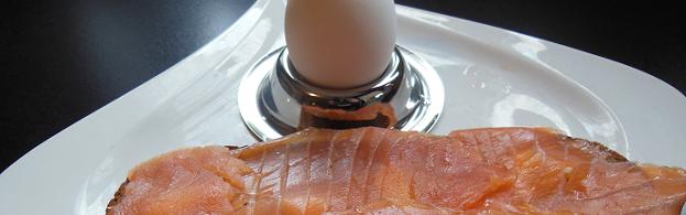 Lachs mit Ei