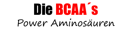 BCAA zum Muskelaufbau