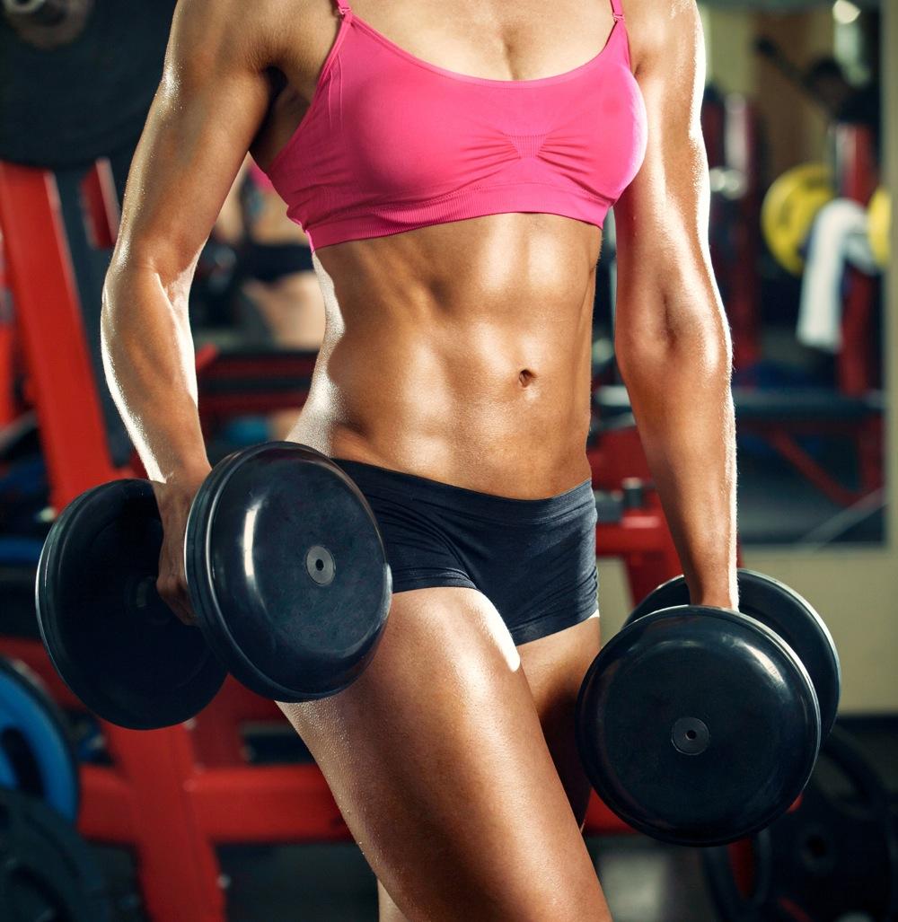 Muskeln bei frauen