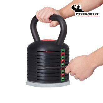 Variobell Kettlebell Gewicht wählen weiß